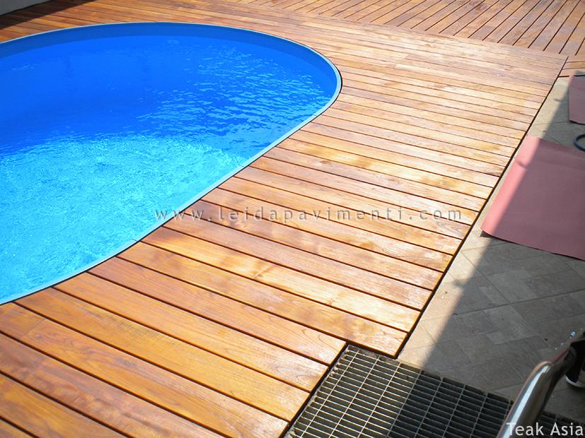 Pavimenti per esterno leida pavimenti - Pavimento in legno esterno ...