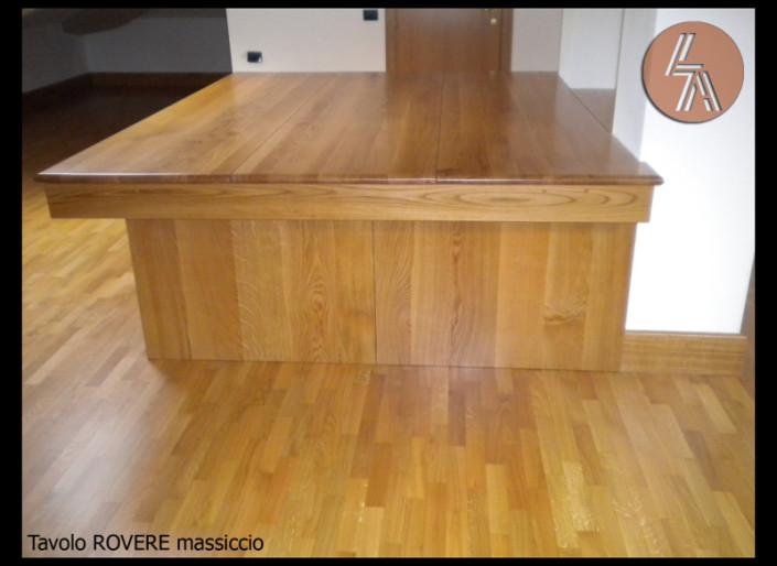 Tavolo in Rovere massiccio